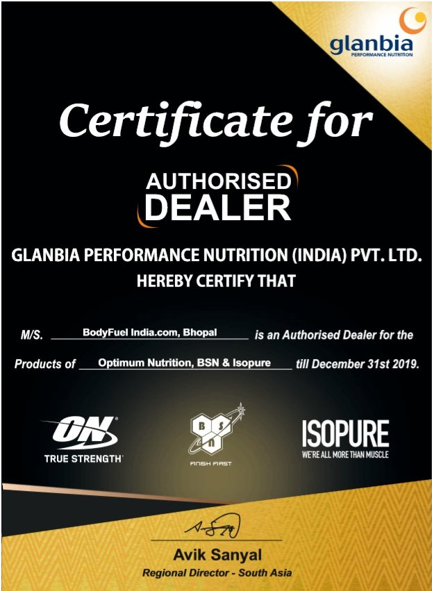 Authorized Importer, Bright Performance, Optimum Nutrition, Body Fuel - India's no.1 Genuine Supplement Store