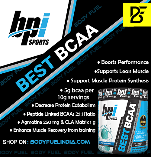 BPI Sports Best BCAA, Ergogenics, Body Fuel India's No.1 Genuine Supplement Store