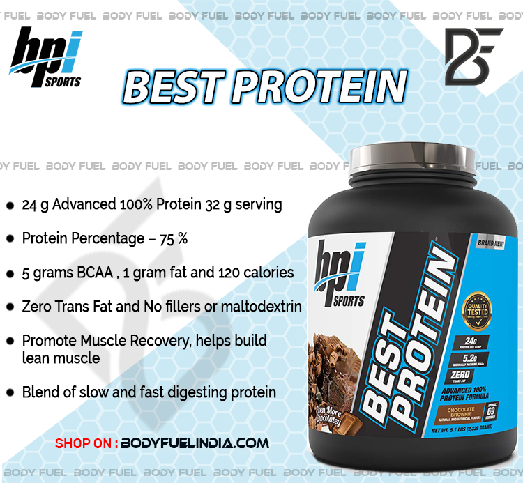 BPI Sports Best Protein, Casein & Blended Protein, Body Fuel – India's No.1 genuine Supplement store