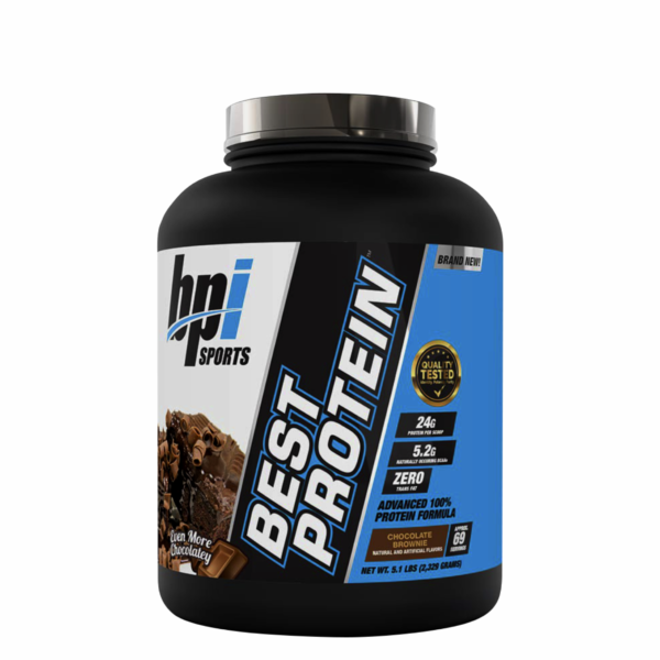 Bpi Best Protein 5.1 lbs Chocolate Brownie