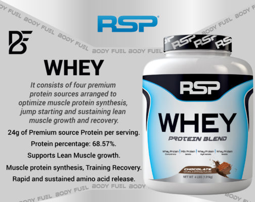 RSP Whey Protein Blend, Whey Protein, Body Fuel