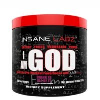 Insane Labz I Am God, Ergogenics, Body Fuel