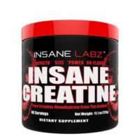 Insane Labz Insane Creatine, Ergogenics, Body Fuel