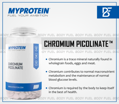 My Protein Chromium Picolinate, Vitamins & Supplements, Body Fuel
