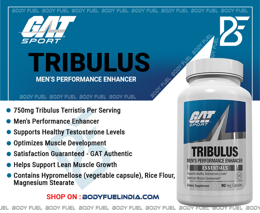 Gat Tribulus, Vitamins & Supplements, Body Fuel India's no.1 Authentic Online Supplement Store.