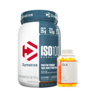 Dymatize ISO 100 + Go Nutrition CLA, Body Fuel