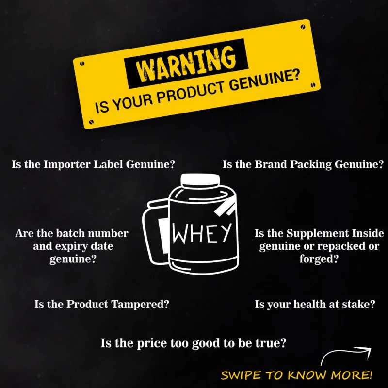 Authenticity, Body Fuel, India's No, 1 genuine online supplement store