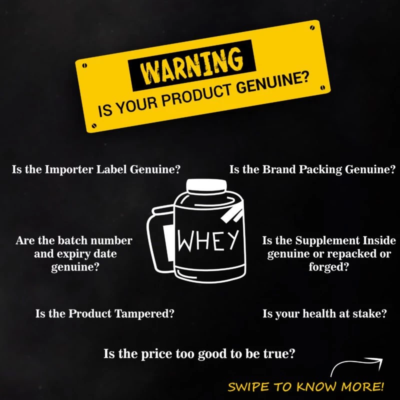 Authenticity, Body Fuel, India's No.1 genuine online supplement store