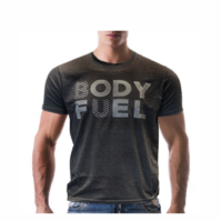 BU Half T-Shirt, GYM Essentials, Body Fuel