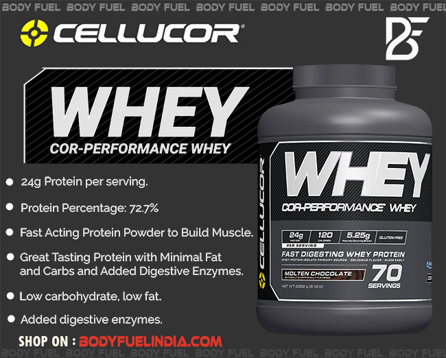 Cellucor COR Performance Whey, Whey Protein, Body Fuel India's no.1 Authentic Online Supplement Store.