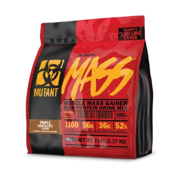 Mutant Muscle Mass Gainer, Gainers, Body Fuel India's Best Supplement Store