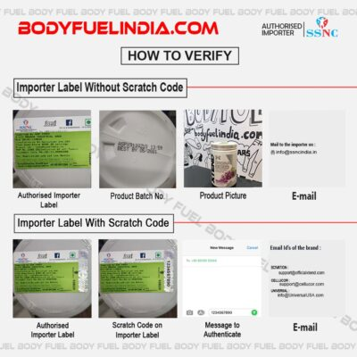 How to verify Genuine Supplement in india, authorized importer, SSNC - Sports Supplement Nutrition Co.