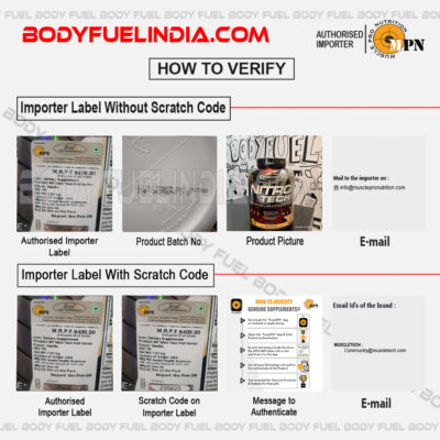 How to verify Genuine Supplement in India, Body Fuel - India's No.1 Original Supplement Store