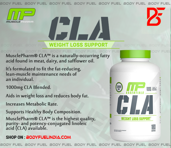 MusclePharm CLA, Vitamins & Supplements, Body Fuel, India's No.1 Online Supplement Store