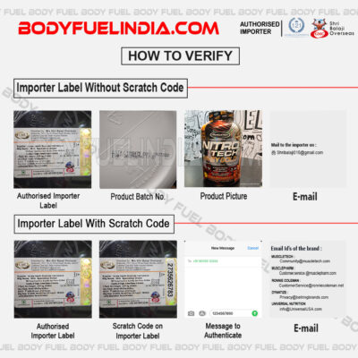 Shree Balaji Overseas , How to Verify Genuine Supplement, Body Fuel, India's No.1 genuine Supplement store
