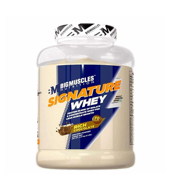 Big Muscles Signature Whey